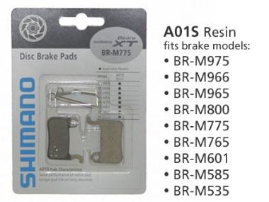 BR-M446 DISC BRAKE PADS B01S RESIN 1PR
