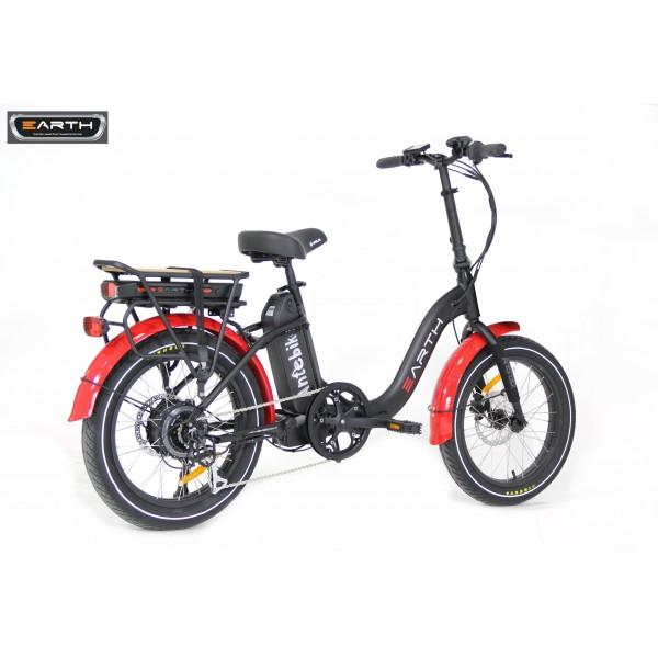 Earth Ant eBike 3 Inch Fat Tyre Dual Battery Folding E-Bike