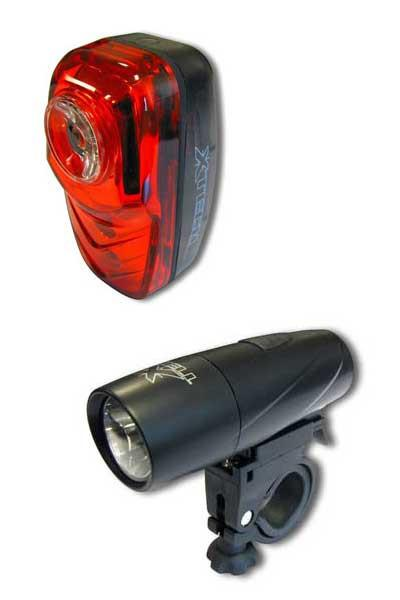 COMBO KIT 1W PLASTIC HEAD 1/2W TAIL LIGHT