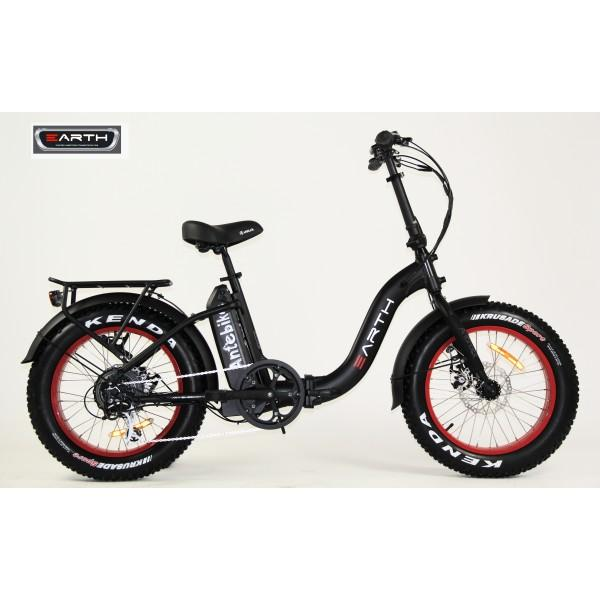 Earth Ant eBike 4 Inch Fat Tyre Folding E-Bike
