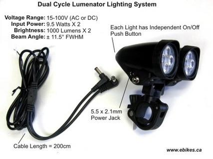 Grin Tech Dual Cycle Lumenator 2000 lumens
