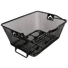 Rear Mesh Basket with QR