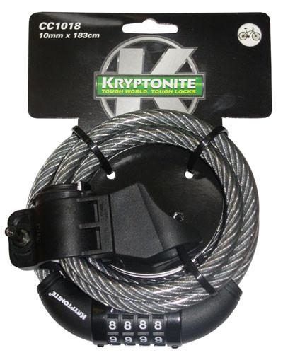 Kryptonite Keeper 1018 Combo Cable 10mmx180cm