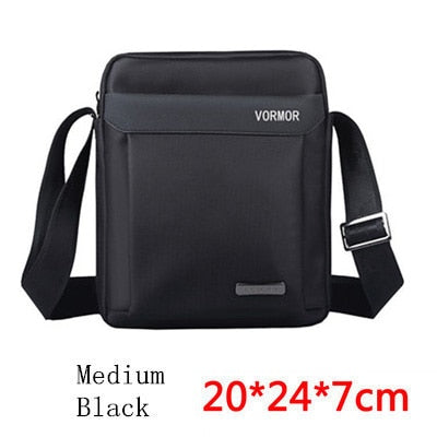 cde6befdca VORMOR Men bag 2018 fashion mens shoulder bags
