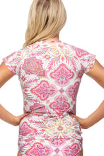 Load image into Gallery viewer, Portree Rash Vest Pink Le-Fever
