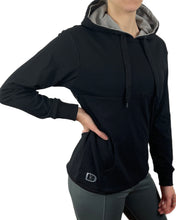 Load image into Gallery viewer, Nursing Hoodie - Black