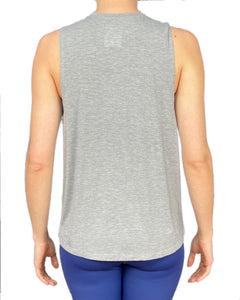 Maternity/Nursing Vest - Grey