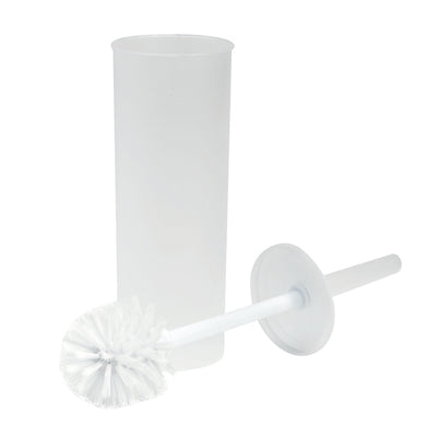 Enclosed Toilet Brush Set
