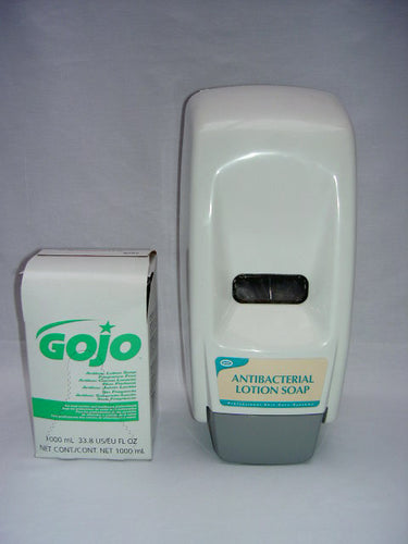 Gojo Antibac Hand Soap Dispenser to buy from Cleaning Supplies 2U