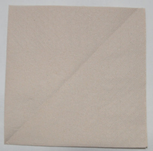 1ply Recycled Paper Napkins - Light Brown to buy from Cleaning Supplies 2U