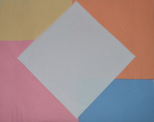 3ply Light Coloured Napkins - 40cm to buy from Cleaning Supplies 2U
