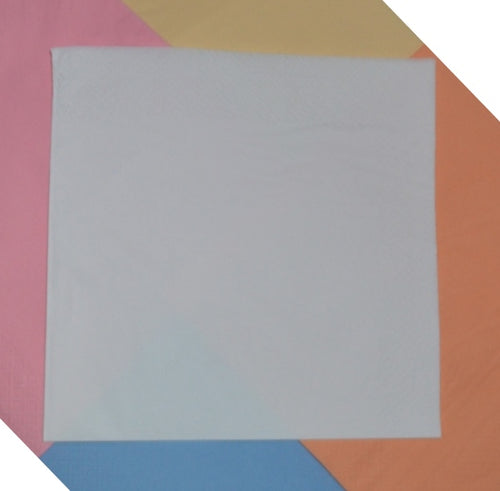 2ply White Dinner Napkins - 40cm to buy from Cleaning Supplies 2U