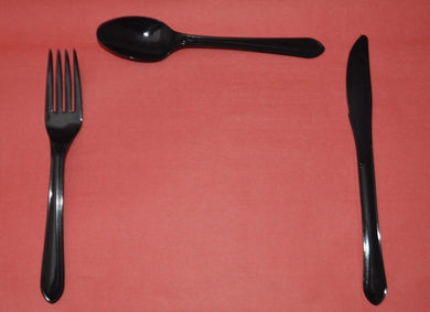 Heavy Duty Plastic Cutlery - spoons to buy from Cleaning Supplies 2U