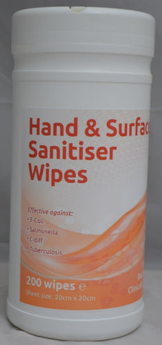 EcoTech Hand and Surface Sanitiser Wipes to buy from Cleaning Supplies 2U