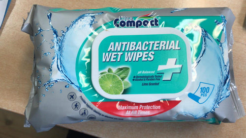 Antibacterial Wet Wipes to buy from Cleaning Supplies 2U