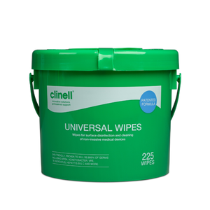 Clinell Universal Hand and Surface Wipes (effective against Covid19) - Bucket