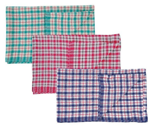 Coloured Check Tea Towel to buy from Cleaning Supplies 2U