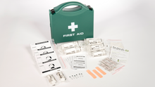 Load image into Gallery viewer, H.S.E First Aid Kit (1-10 person) to buy from Cleaning Supplies 2U