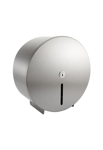 Mini Jumbo Toilet Roll Dispenser - Stainless Steel to buy from Cleaning Supplies 2U