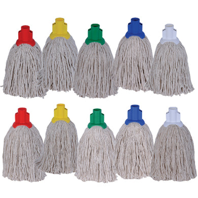Colour Coded 14oz PY Socket Mop to buy from Cleaning Supplies 2U