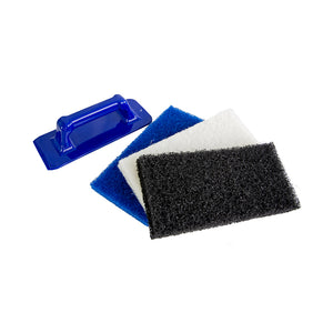Hand Held Scour Pad Applicator Kit to buy from Cleaning Supplies 2U