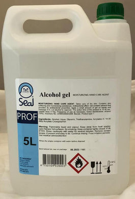 Hand Sanitiser Gel - 5 Litre to buy from Cleaning Supplies 2U