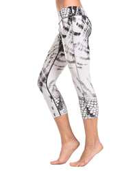 (SFE7LF6NV-ANI3) Wr.Up® Shaping Effect - Print - Low Waist - 7/8 Ankle Length