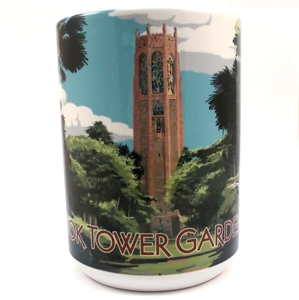 Bok Tower Gardens Artwork Mug