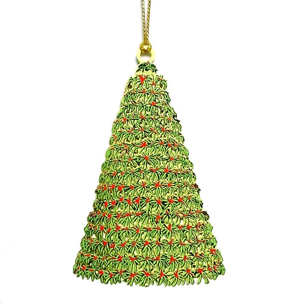 Bromeliad Christmas Tree Ornament