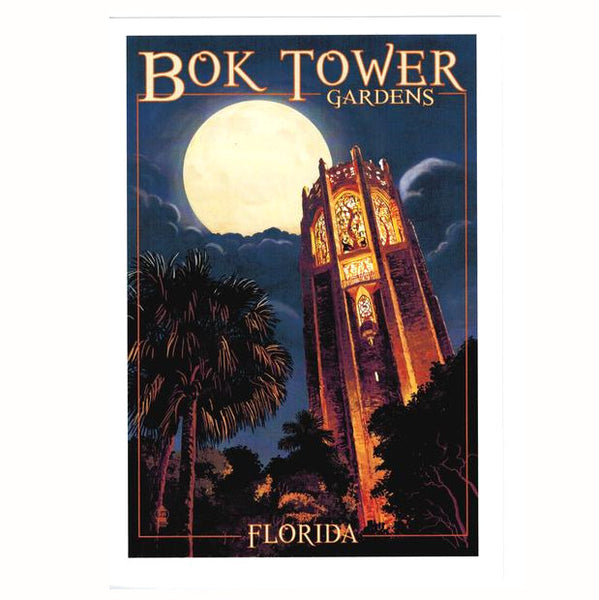 Night Tower Note Card