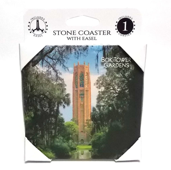 Coaster With Easel - Bok Tower Gardens
