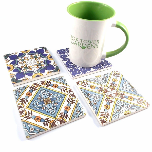 Pinewood Estate Tile Coasters