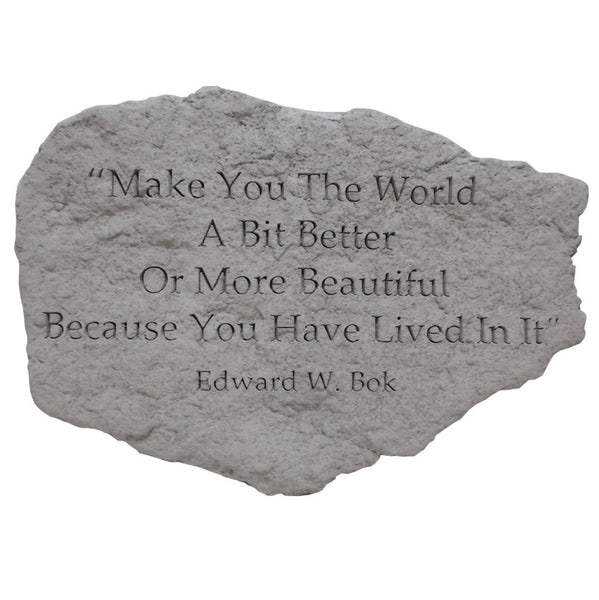 "Garden Stone - ""Make You the World"""