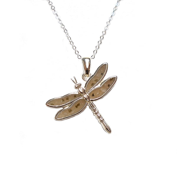 Dragonfly Necklace by Nicole Michelle