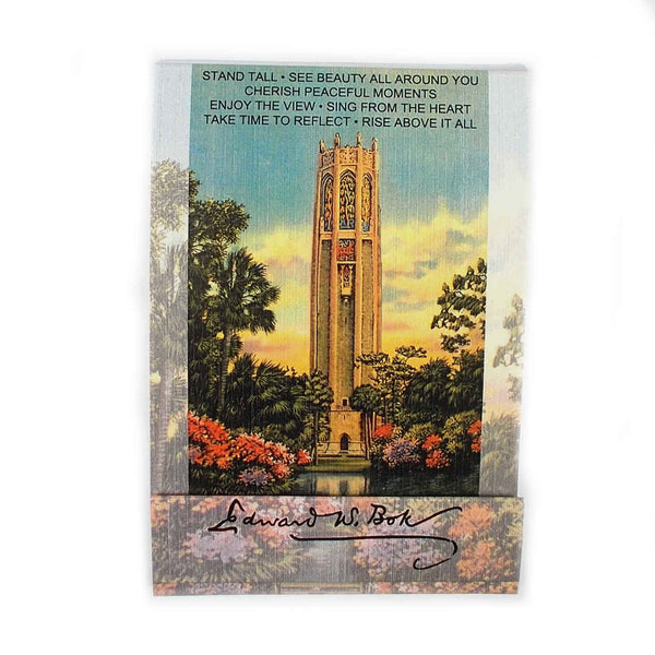Bok Tower Matchbook Pads