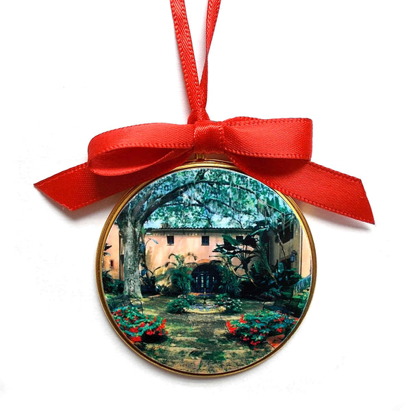 Pinewood Estate Ribbon Ornament