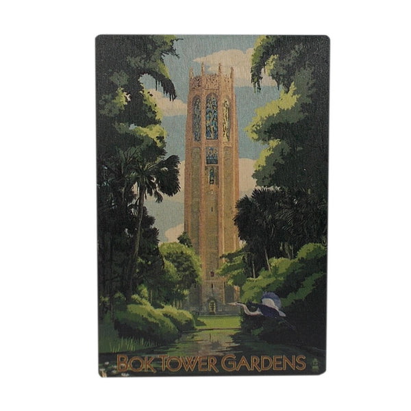 Wooden Postcards - Bok Tower Gardens