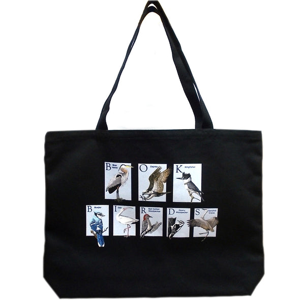 Canvas Tote Bag - Bok Birds