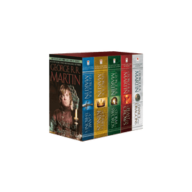 George R R Martins A Game Of Thrones 5 Book Boxed Set Song Of Ice And Fire Series A Game Of Thrones A Clash Of Kings A Storm Of Swords A Feast For Crows And A Dance With Dragons