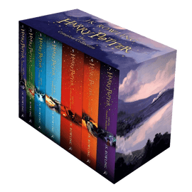 Harry Potter The Complete Collection 7 Books Set Collection