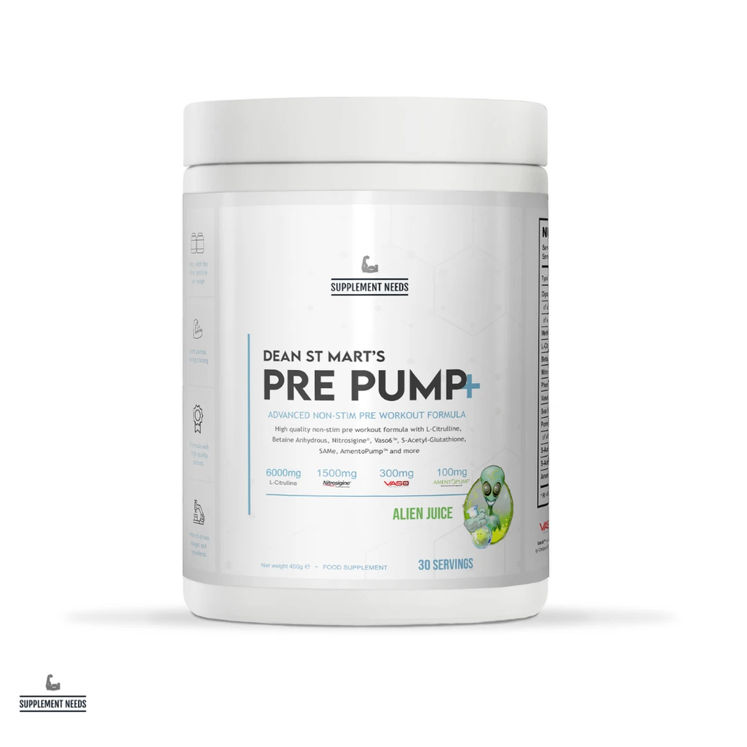 Supplement Needs Pre Pump+ (30 Servings)