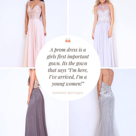 How To Choose Your Perfect Prom Dress by Gissings Boutique