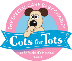 Gissings Boutique Cots for Tots Charity St Micheals Hospital