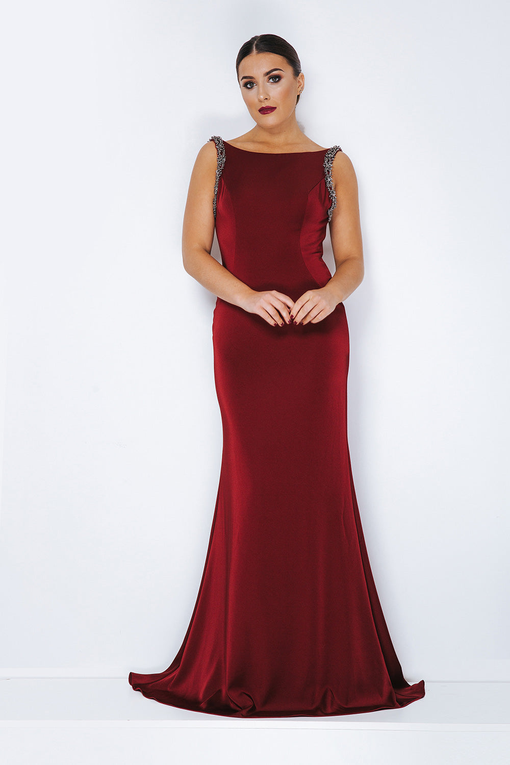Dyansty London Long Evening Gown - Gissings Boutique