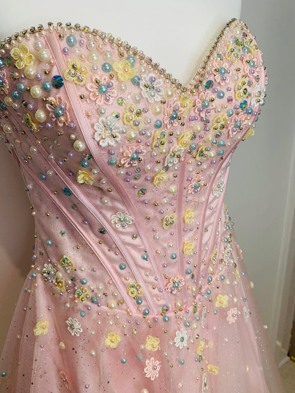 Pink Corset Short Pageant Dresses - Limited Edition - Gissings Boutique