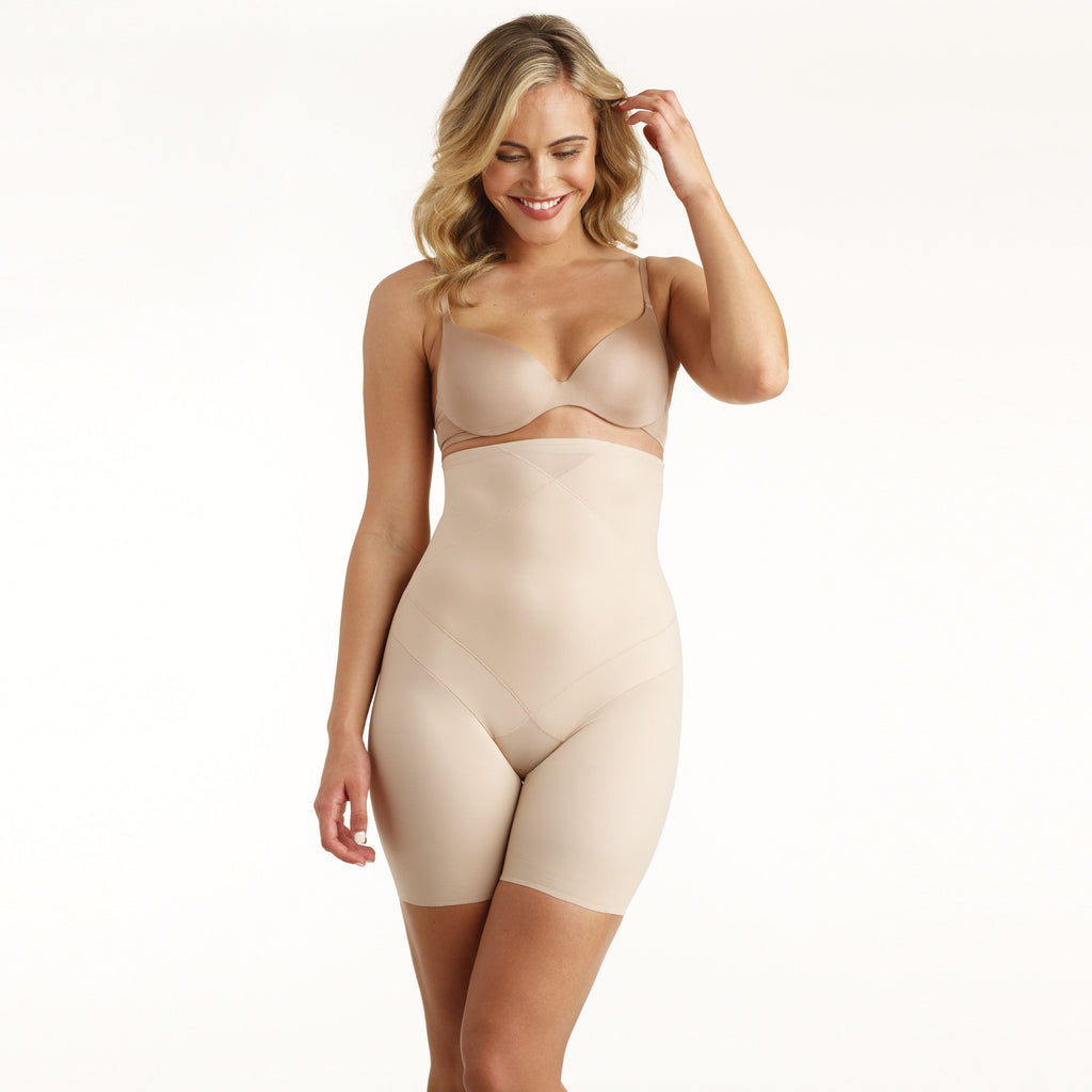 Shapewear Hi Waist Thigh Slimmer - Gissings Boutique