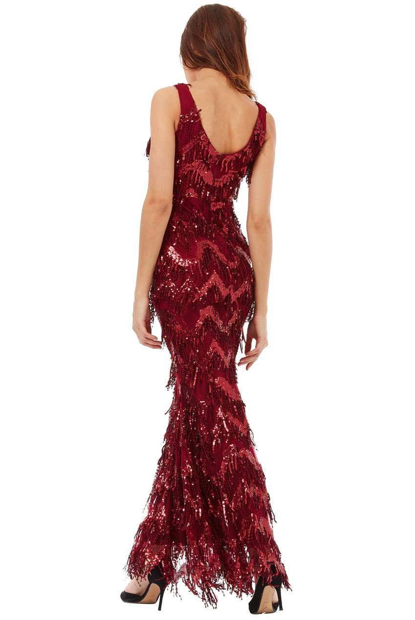 Sequin Flapper Dress - Gissings Boutique
