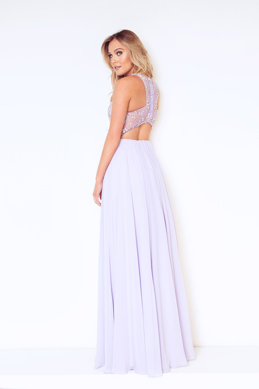Sestos Lavender Long Gown