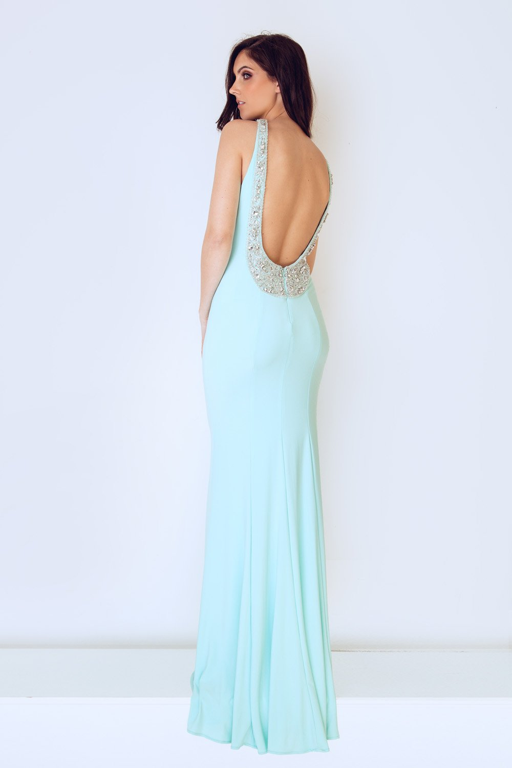 Kasa Duck Egg Blue Dress - Gissings Boutique