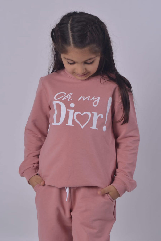 Girls Designer Slogan Loungewear - Gissings Boutique